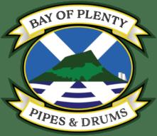 Bay of Plenty Pipes & Drums Logo