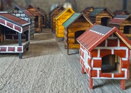 Postavljene prve kućice za napuštene pse u Zaječaru