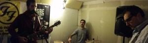 La band in sala prove