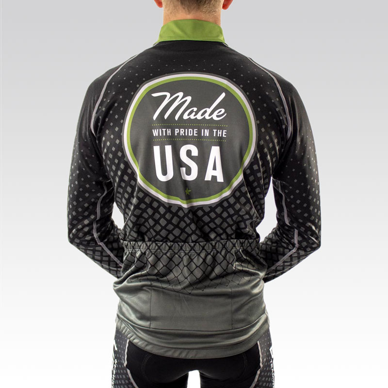 Pro Ardent Wool Cycling Jersey - Back