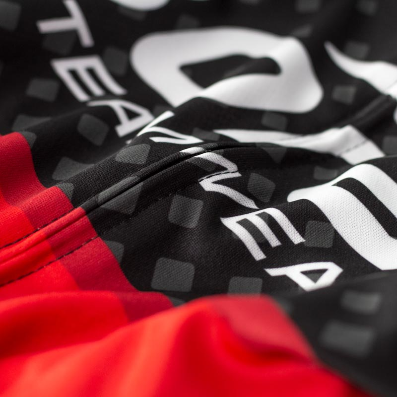 Team Club Cut Cycling Jersey - Detail
