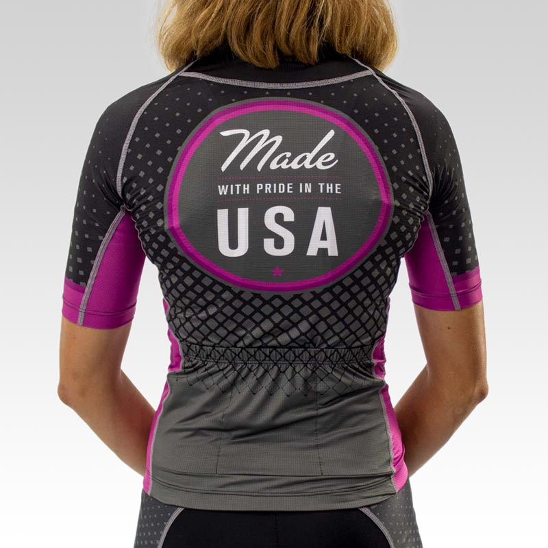 Women's OTW Cycling Jersey - Back