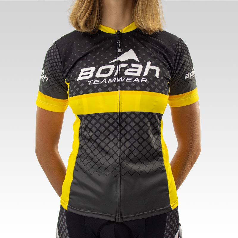 Women's Team Club Cut Cycling Jersey - Front