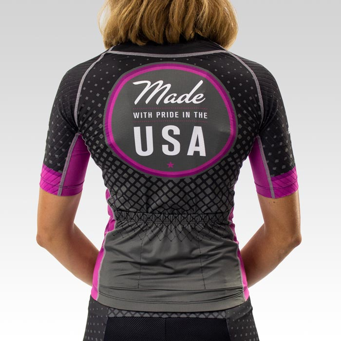 Women's OTW Spark Cycling Jersey - Back