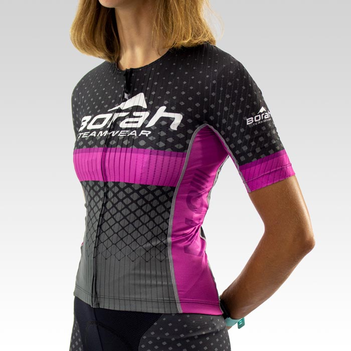 Women's OTW Spark Cycling Jersey - Front 3qtr