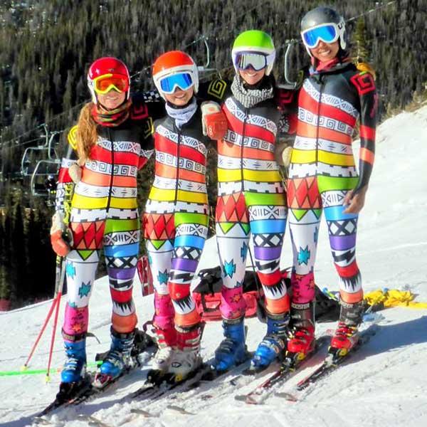 Custom Alpine Race Suits