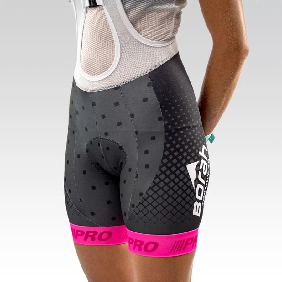 Women's Pro Cycling Bib - Full Print Gallery1