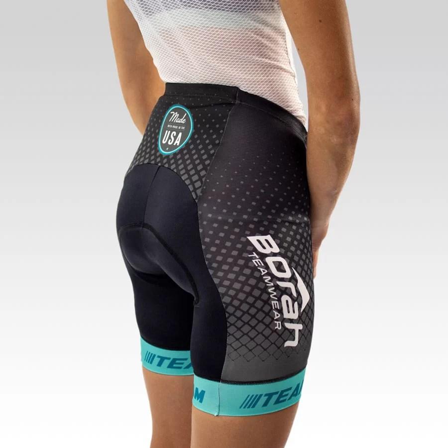 Women's Team Cycling Short Gallery2