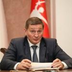 Губернатор Волгоградской области принял участие в видеоселекторном совещании с Дмитрием Медведевым