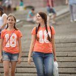 В волгоградской фан-зоне отметили День семьи, любви и верности