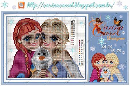 Elsa e Anna Frozen 1