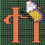 alfabeto borboletas H