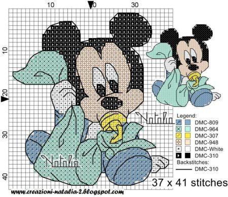 Mickey Bebê frauda