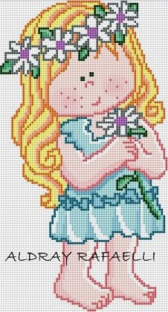 boneca menina 35