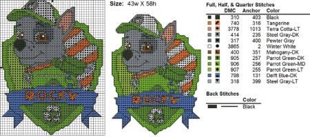 escudo ROCKY