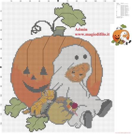 Halloween em ponto cruz 11
