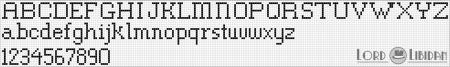 Monograma Alfabeto Pequenos BordadoPontoCruz com 39