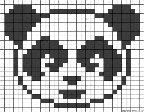 Urso Ursinho Panda BordadoPontoCruz 017