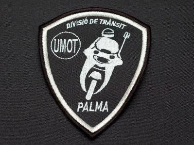 escudo bordado unidad especial policía local palma de mallorca