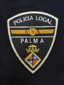 bordado policia local palma de mallorca