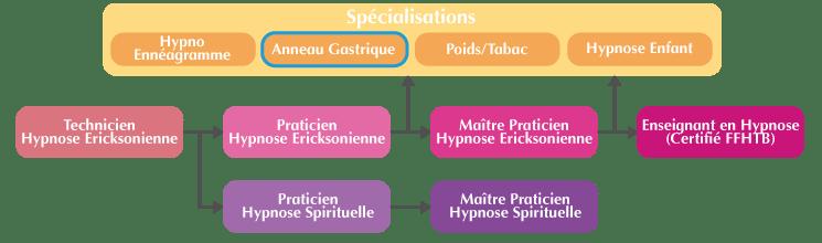 Cursus formation hypnose spécialisée Anneau gastrique