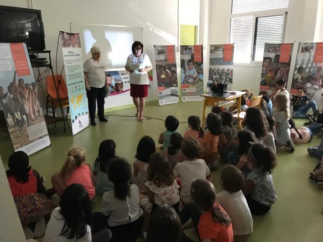 Exposition photos Cantines du monde de Partage à m'école Bouscat