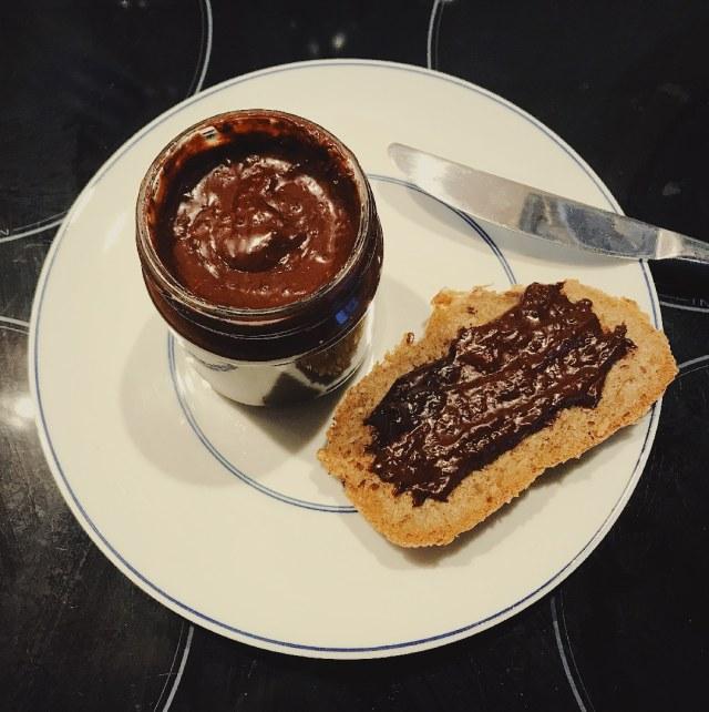 Recette Chococo - assiette et tartines