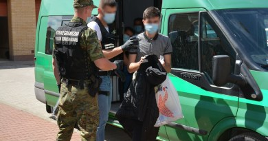 Border Guard Unit detained 11 foreigners for crossing the Polish-Lithuanian border