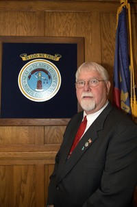 Charles Peterson, Bladen County commissioners chair