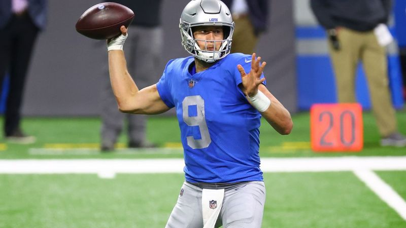 Should The Lions Trade Matthew Stafford?