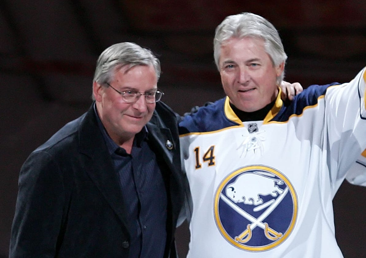 """Honoring Sabres """"French Connection"""" Legend Rene Robert"""