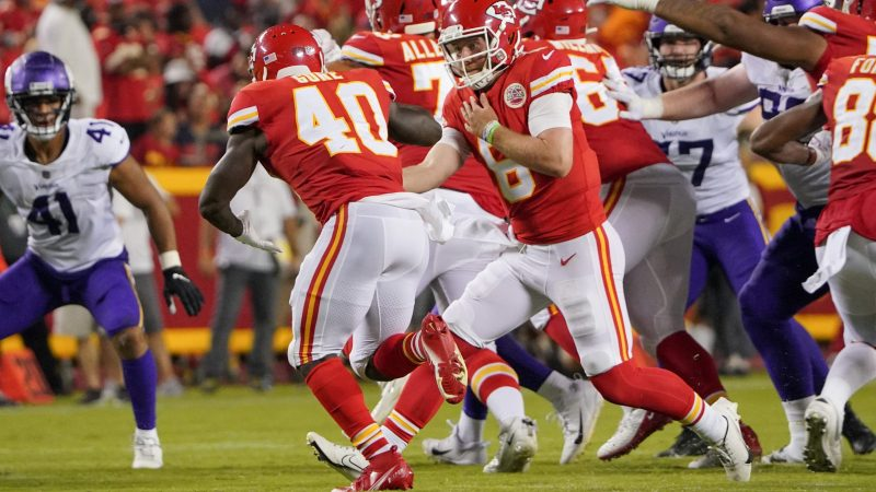 Trend Line: Three Kansas City Chiefs Players That Trended Up And Down In Chiefs Versus Vikings