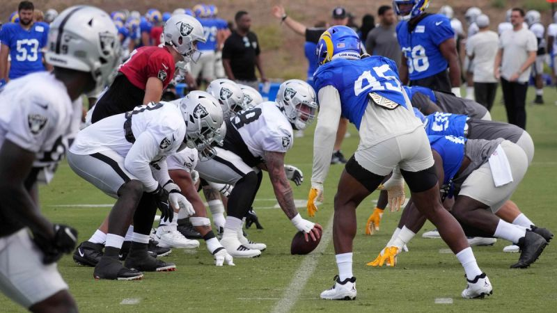 As The Raiders Face The Rams, Here's What You Need To Watch For (Preseason Week Two)