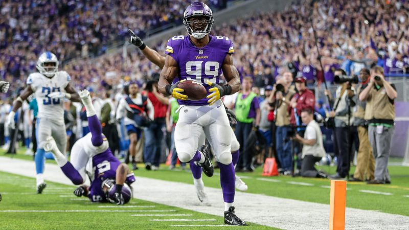 Danielle Hunter is making his return after missing all of 2020.