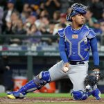 6 years after winning the World Series, Salvador Perez is have the best year of his life.