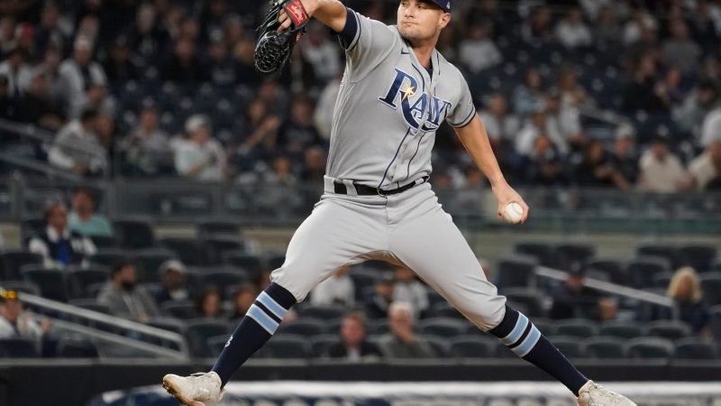 Rays Set Rotation For ALDS