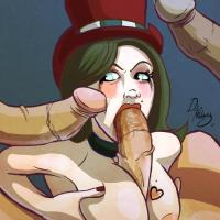 Get in the line guys! Everyone wants to fuck Moxxi's big mouth!
