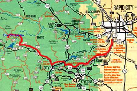 road of north dakota with cities map » Full HD MAPS Locations ...