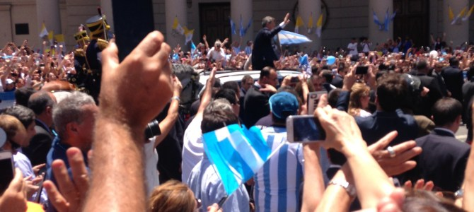 An Argentine Inauguration