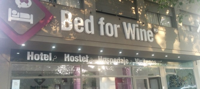 Mendoza Part II: A bed for wine or wine for bed?
