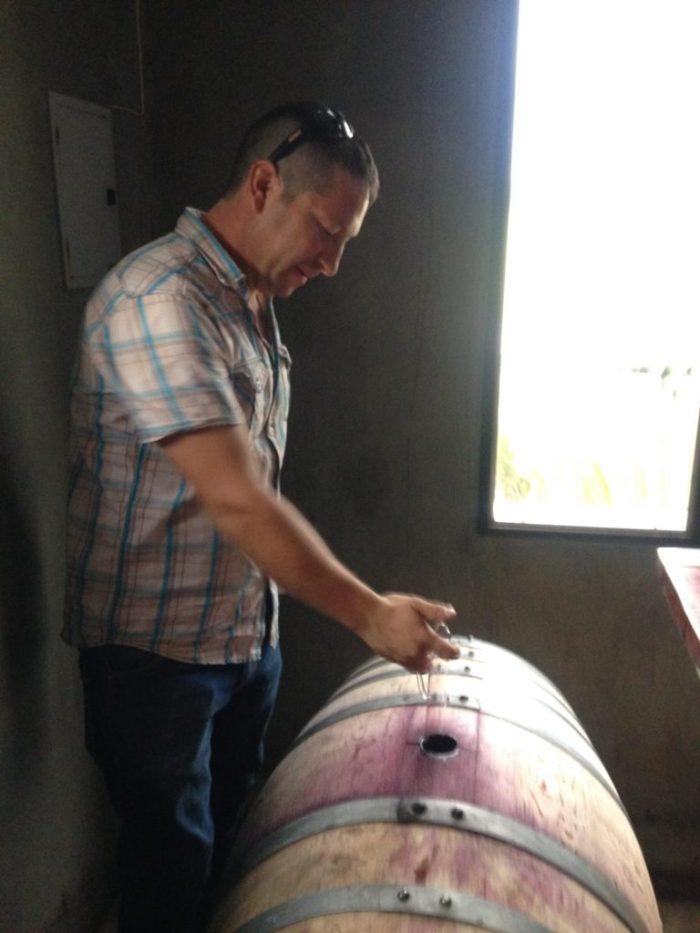 Tasting at Azul Winery