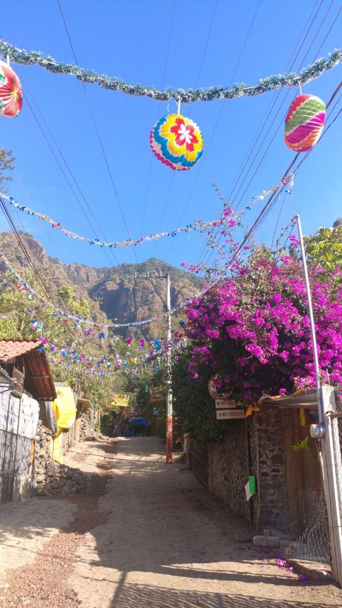 Street in Tepoztlan