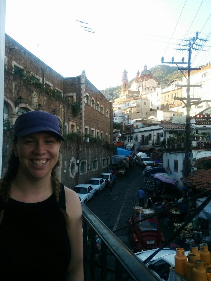 Balcony in Taxco