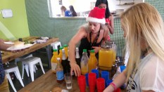 Enough bucks fizz to feed the hungry hoard of backpackers? Almost.