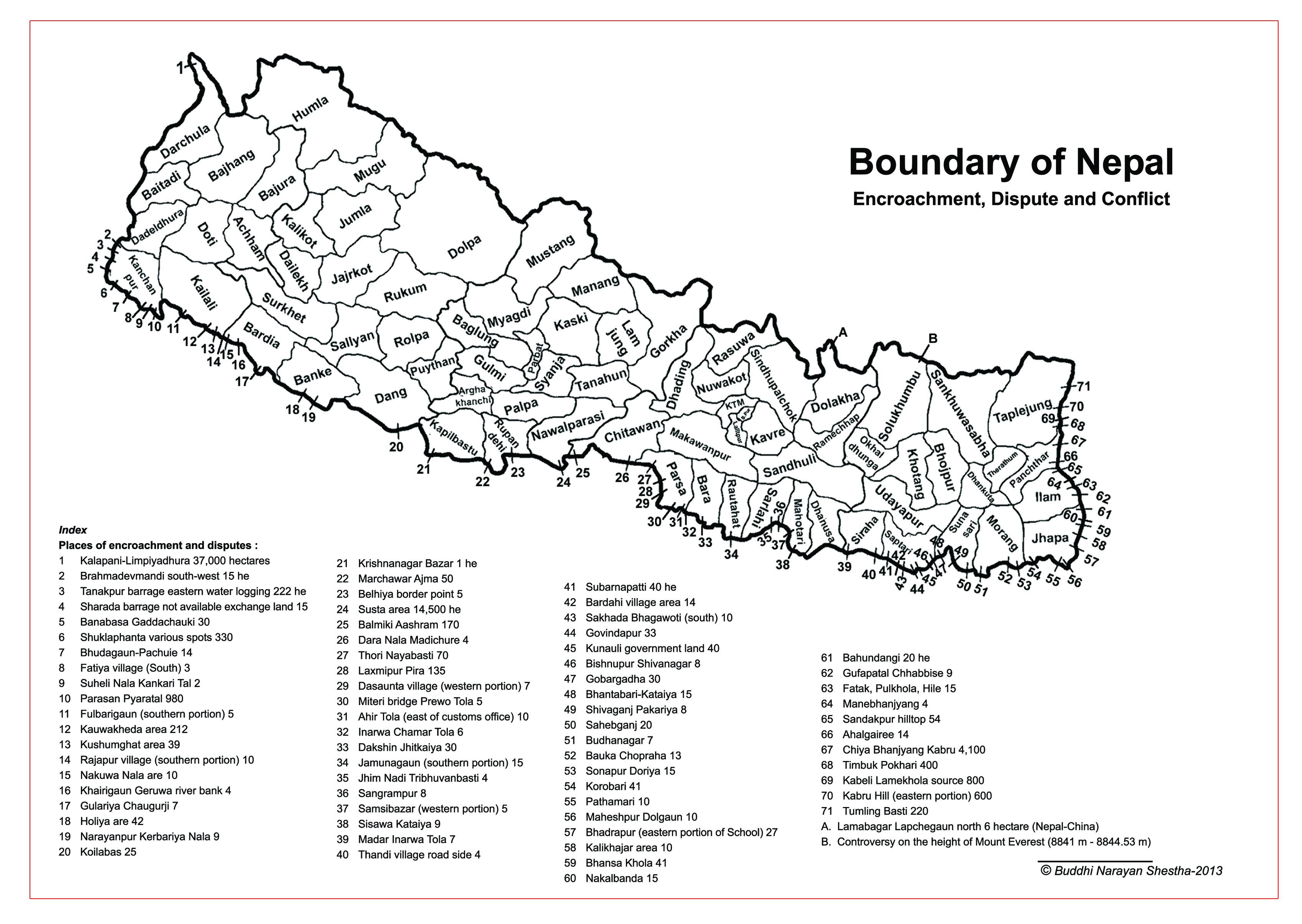 Vdc Nepal Map