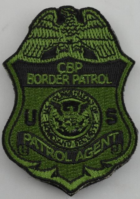 Subdued Velcro CBP Patch - Patches / Decals