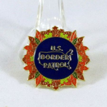 USBP Wreath Pin - Pins / Charms
