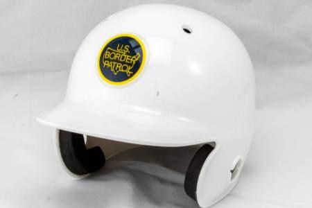 USBP Mini Batting Helmet-White - Misc Gifts
