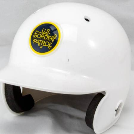 USBP Mini Batting Helmet-White - Misc Gifts