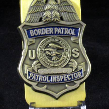 PATROL INSPECTOR/MONEY CLIP - Misc Gifts